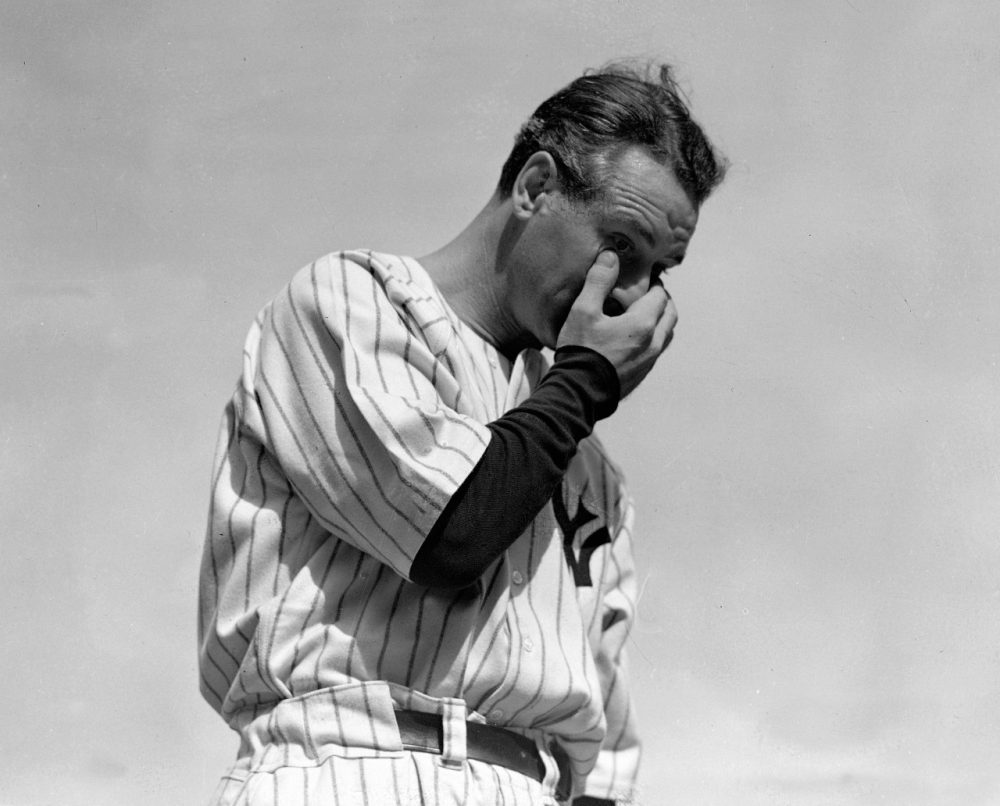 The Heartbreaking Moment Lou Gehrig Said Goodbye To The Yankees