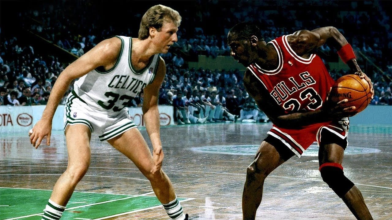 The Legendary Rivalry Between Larry Bird And Michael Jordan
