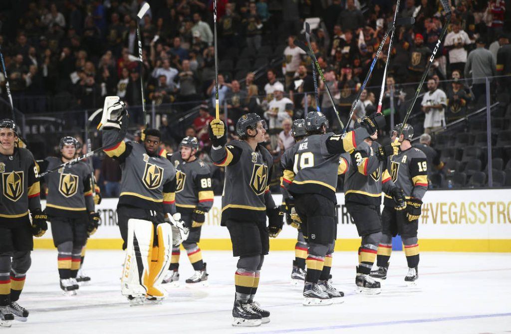 The Amazing Debut NHL Season Enjoyed By The Las Vegas Golden Knights