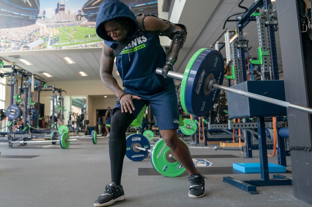 NFL Players Are Having to Workout From Home and They're Loving It