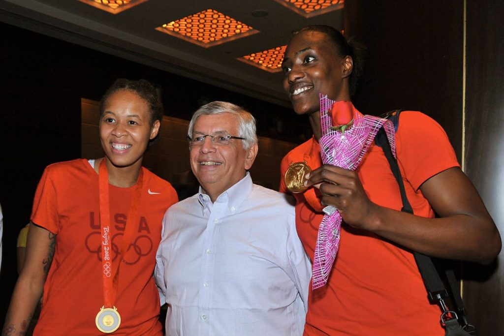 David Stern Entering Women's Basketball Hall Of Fame